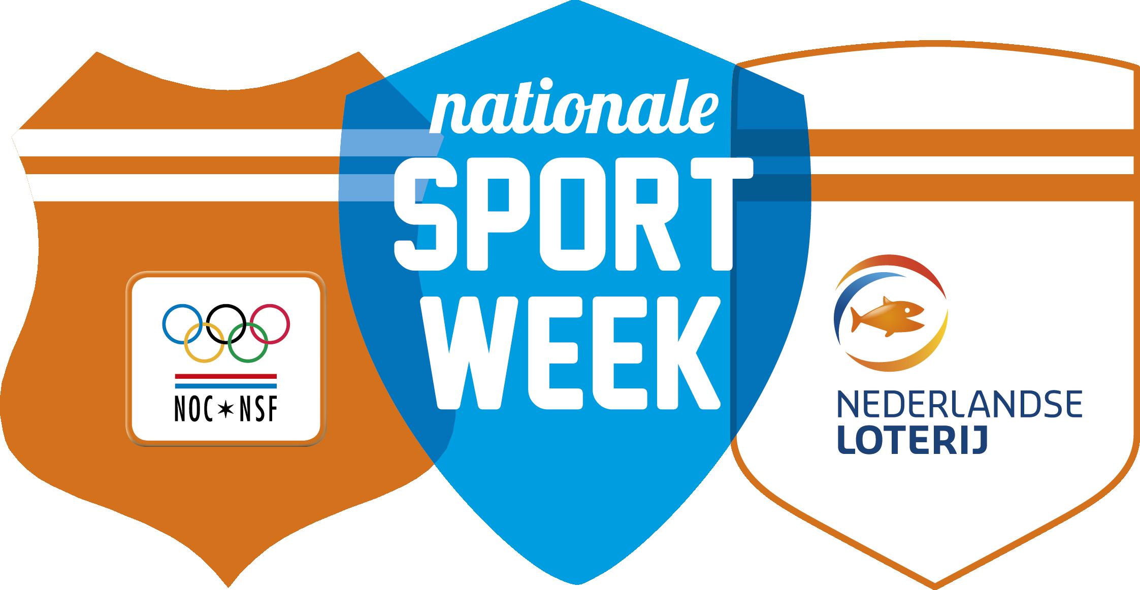 Afbeeldingsresultaat voor logo nationale sportweek